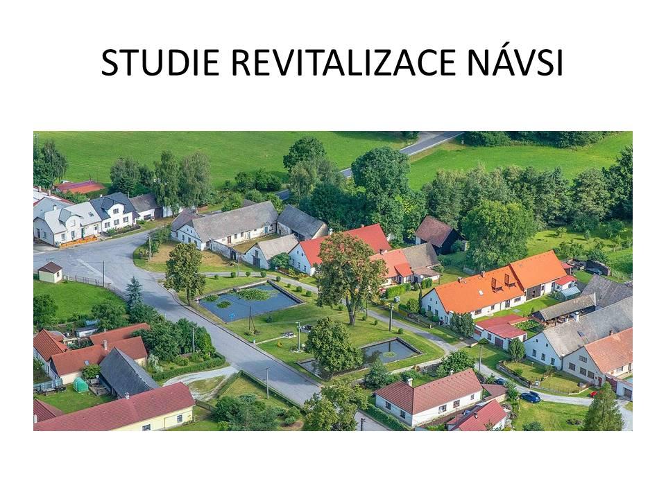 oficiální stránky obce kaliště vysočina revitalizace návsi